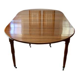 French Walnut Extending Dining Table For Sale