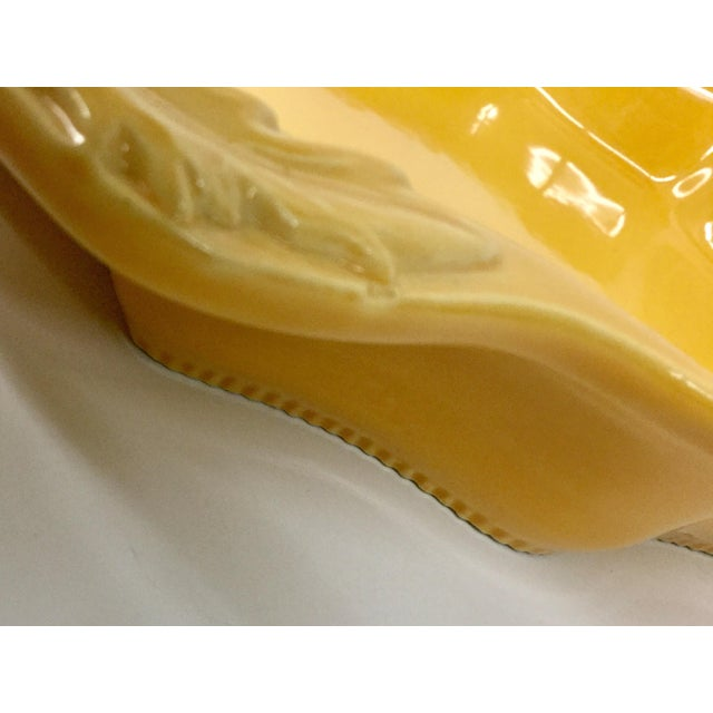 Clay French Ovenproof Appolia Gold Clay Serving Dish For Sale - Image 7 of 13
