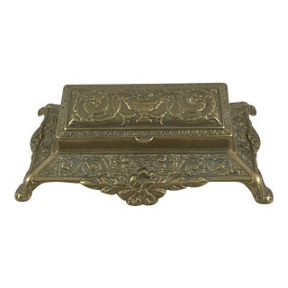 20th Century Traditional Brass Desk Accessory For Sale