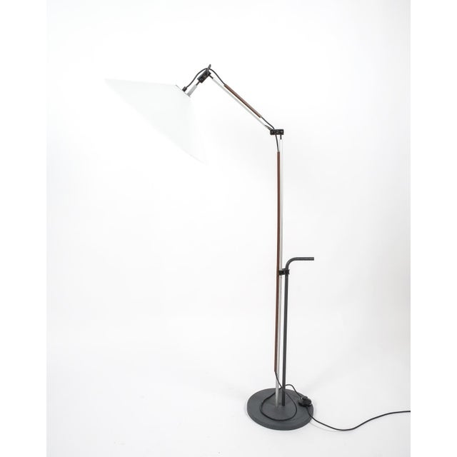 Acrylic Pair of Aggregato Floor Lamps by Enzo Mari, Circa 1970 For Sale - Image 7 of 10