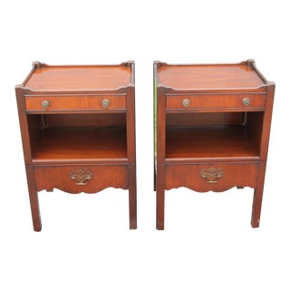 1940's Traditional Nightstands - a Pair For Sale