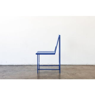Flux Dining Chair in True Blue Preview