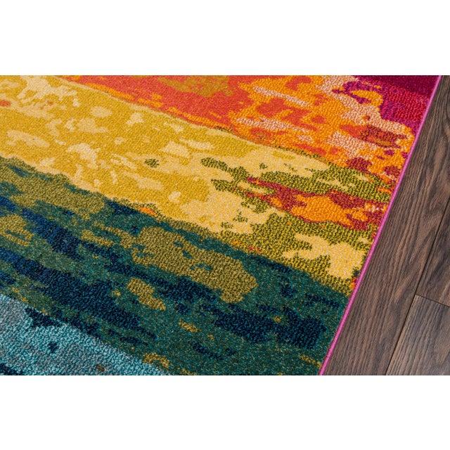 "Contemporary Contemporary Momeni Casa Polypropylene Multi Area Rug - 5'3"" X 7'6"" For Sale - Image 3 of 6"