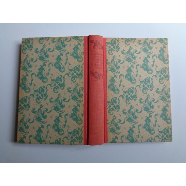 Beautiful vintage hardcover book -The Faerie Queene, published 1953 by the Heritage Press in celebration of the coronation...