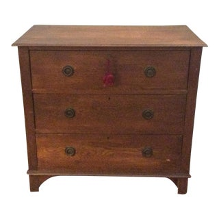 Antique Walnut Chest of Drawers For Sale
