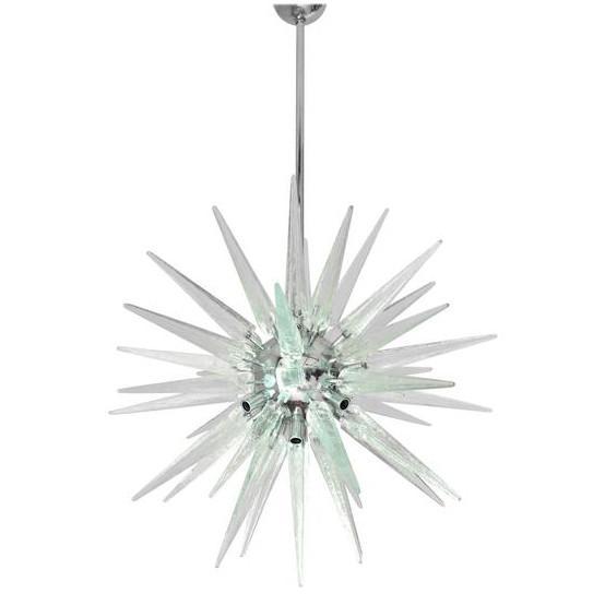 Shards Sputnik Chandelier For Sale In Palm Springs - Image 6 of 6
