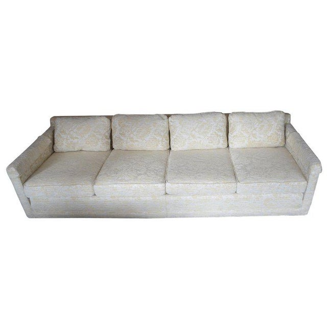 Sofa From Flair Midcentury in Blended Cotton Felt For Sale - Image 13 of 13