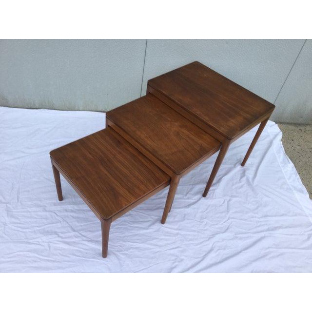 1960's Modern Drexel Declaration Nesting Tables - Image 5 of 9