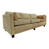Image of Newly Reupholstered Henredon Tuxedo Sofa For Sale