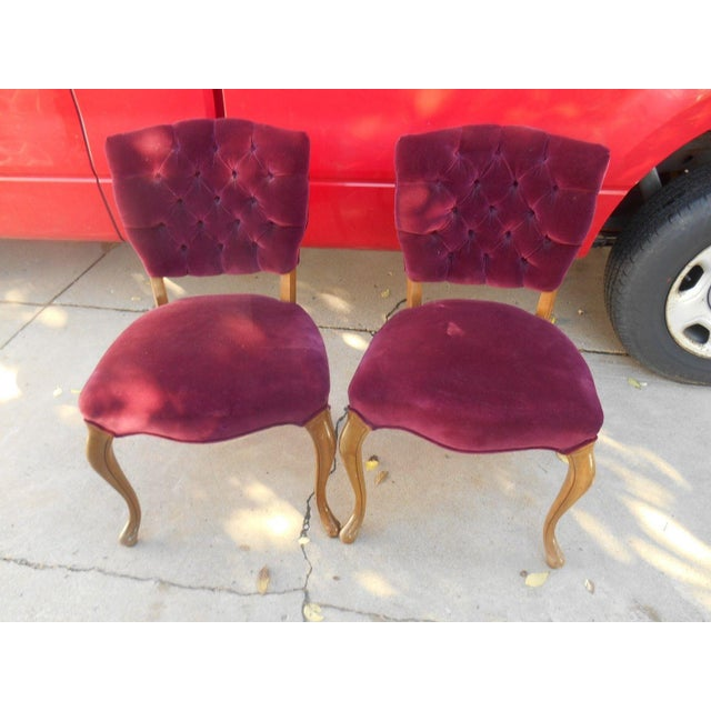 French Fireside Dining Chairs - A Pair - Image 3 of 8
