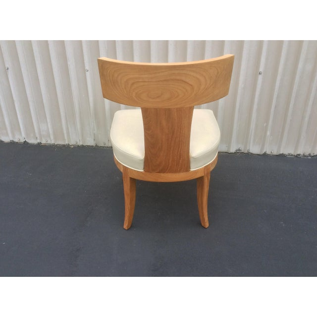 Mid-Century Modern Mid Century Style Ceres Chair With Leather Seat by Ironies For Sale - Image 3 of 11