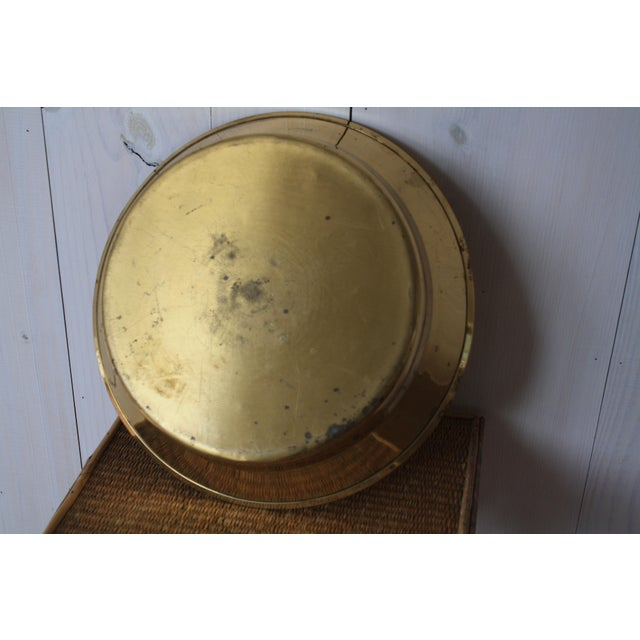 20th Century Hollywood Regency Brass Bowl For Sale - Image 4 of 8