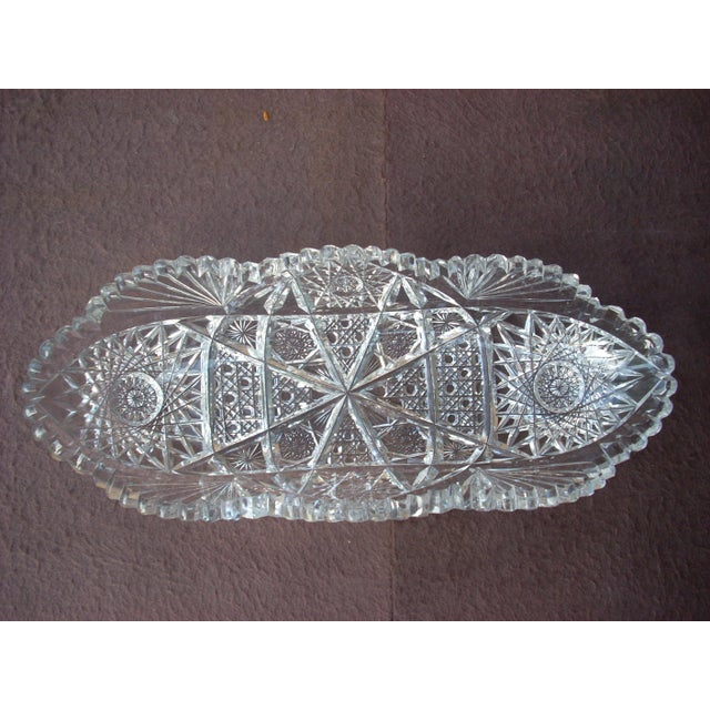 Traditional Circa 1800 Cut Crystal Bowl For Sale - Image 3 of 4
