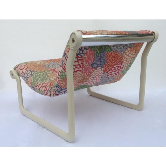 1970s Knoll Sling Lounge Chairs by Hannah & Morrison - A Pair - Image 5 of 11