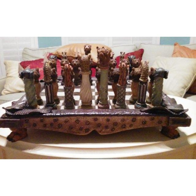 Safari Chess Set - Image 5 of 6