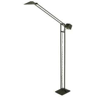 Black Cast Iron and Steel Articulated Floor Lamp by ARTUP For Sale