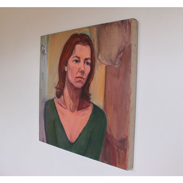 Vintage Portait Painting of a Woman - Image 3 of 3