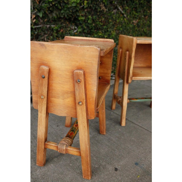 Rancho Monterey Side Tables - A Pair For Sale - Image 5 of 10