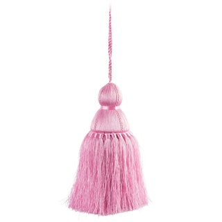 Pyar & Co. With Trellis Home Tassel, Pink, Medium For Sale