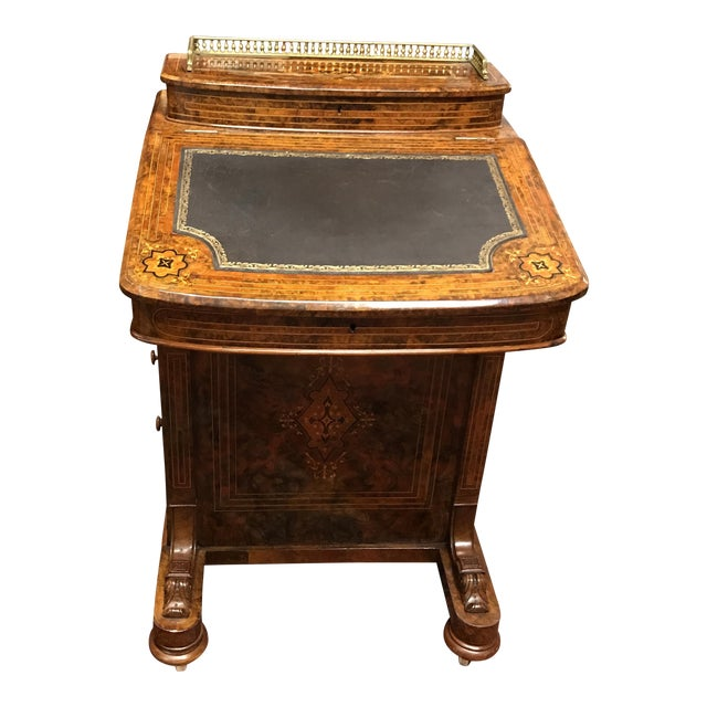 Antique Walnut Davenport Desk For Sale - Antique Walnut Davenport Desk Chairish