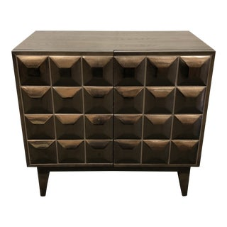 Lubna Faceted Cabinet by West Elm For Sale