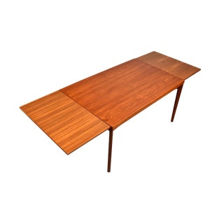 Danish Modern Teak Dining Table by Vejle Stole For Sale