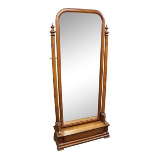 Fruitwood Cheval Mirror For Sale