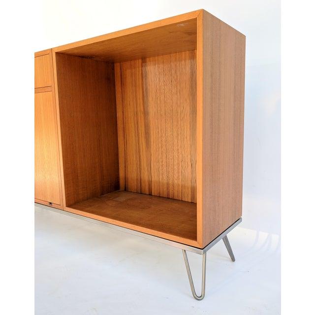Danish Modern 1960s Vintage Danish Modern Teak Credenza For Sale - Image 3 of 10