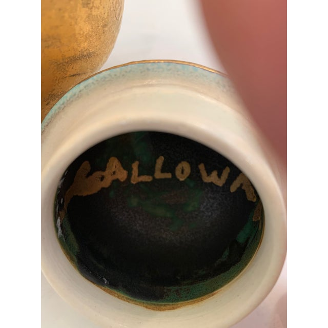 Handmade Pottery by Julia Galloway -Set of 3 For Sale - Image 11 of 13
