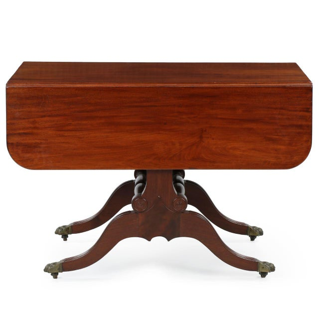 American Classical Mahogany Library Table - Image 2 of 11