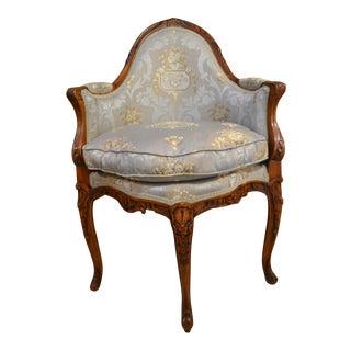 Antique French 18th Century Corner Chair