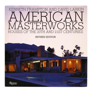 American Masterworks - Houses of the 20th and 21st Centuries For Sale