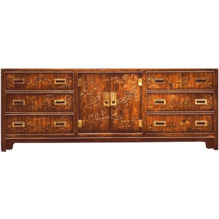 Drexel Heritage Dynasty Collection Campaign Credenza