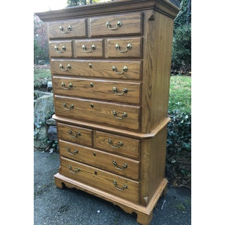Thomasville American Oak Chest Preview