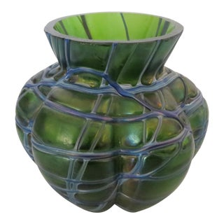 Art Glass Vase For Sale