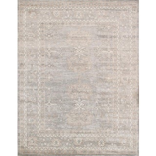 "Pasargad Oushak Bamboo Silk Rug - 8'11"" x 11'11"" For Sale"