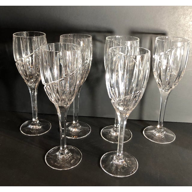Contemporary Mikasa Uptown Wine Glasses - Set of 6 For Sale - Image 11 of 12