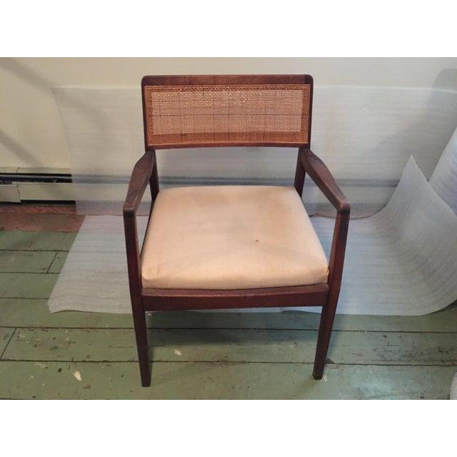 Jens Risom 1960s Vintage Jens Risom 'Playboy' C-140 Side Chair For Sale - Image 4 of 8