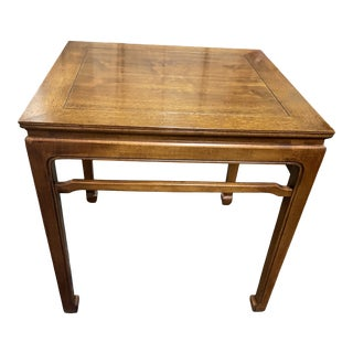 Late 20th Century Henredon Ming Style Side Table For Sale