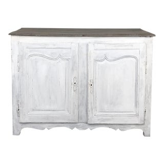 18th Century Country French Provincial Painted Buffet For Sale