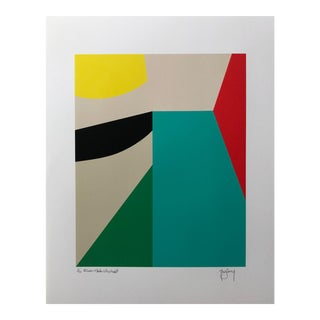 8 Color Limited Edition Modern Abstract Fine Art Print by Tony Curry For Sale