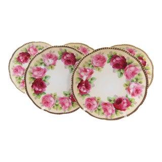 Antique Beyer & Boch Dessert Plates - Set of 5