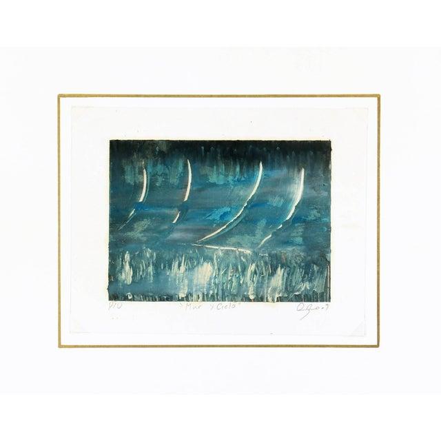 Oscar Arturo, Mar Y Cielo Abstract For Sale - Image 4 of 5