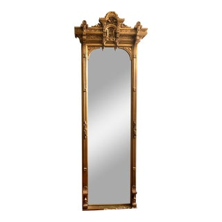 19th Century Giltwood Wall Mirror For Sale