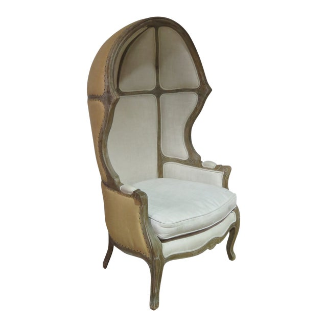 French Provincial Style Porters Chair For Sale