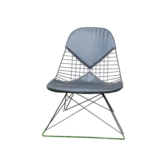 Mid-Century Modern Eames LKR Lounge Chair With Cat's Cradle Base For Sale - Image 3 of 3