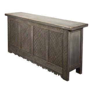 Sarreid Persian Wall Sideboard, French Grey For Sale