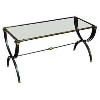 Raymond Subes Attributed Cocktail Table