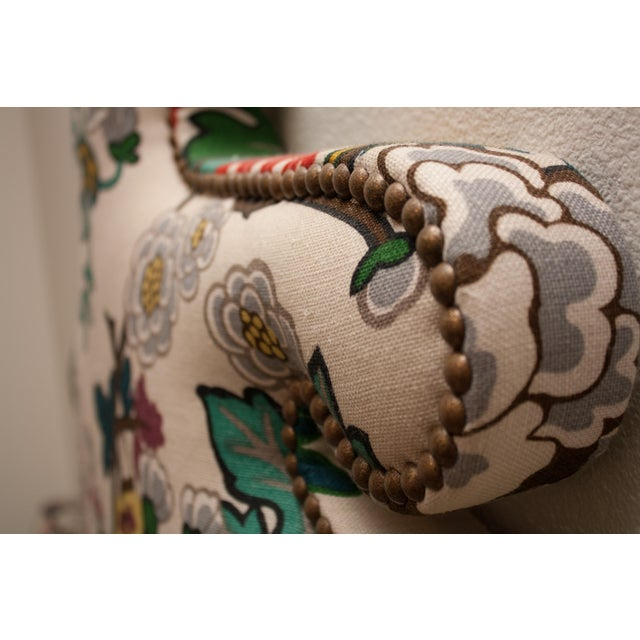 Chinoiserie Custom Shaped Chinois Daybed With Trundle For Sale - Image 3 of 5