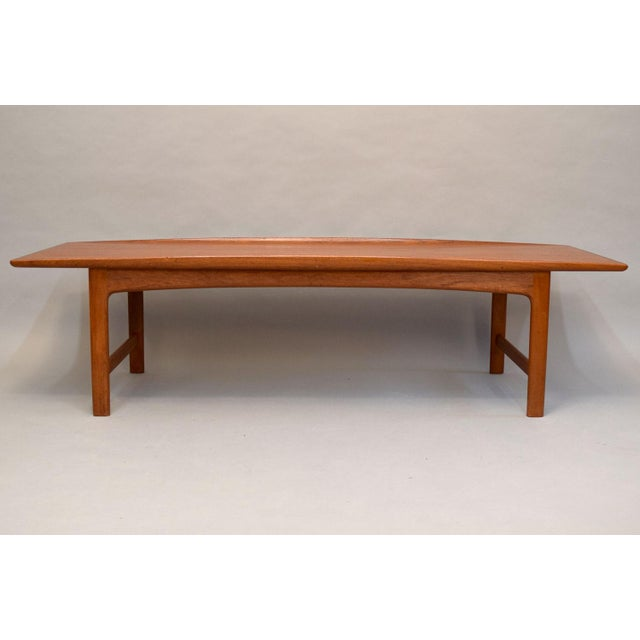 Dux Folke Ohlsson Sculptural Teak Coffee Table - Image 2 of 11